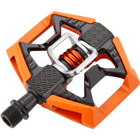 Crankbrothers Double Shot 2 Pedales, orange/black